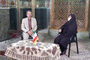 مصاحبه برنامه خانه ملت با پروین صالحی نماینده مردم شهرستان مبارکه