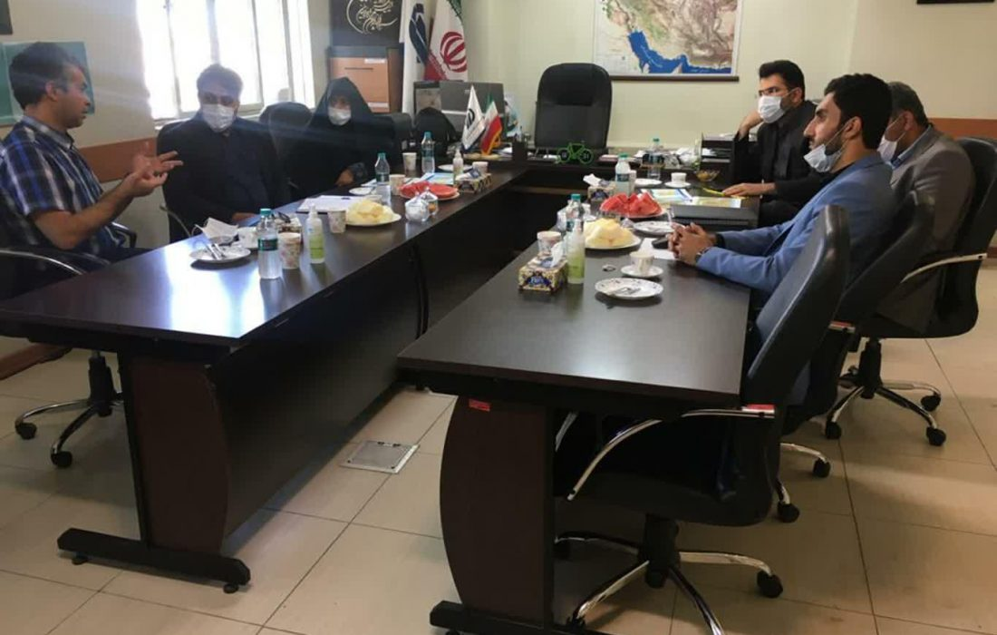 جلسه با مجری طرح های زیربنایی استان اصفهان