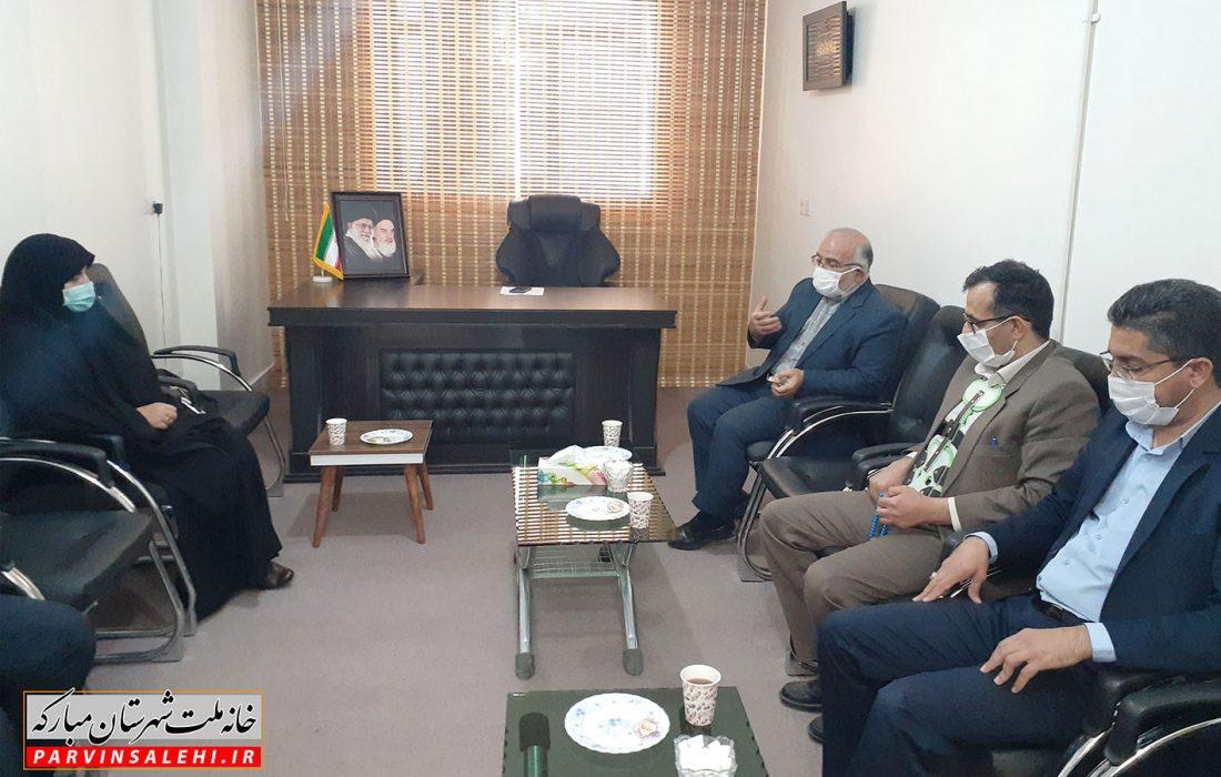 دیدار دادستان جدید شهر مبارکه با نماینده شهرستان