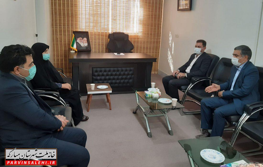 دیدار سرپرست دانشگاه آزاد اسلامی واحد مبارکه و مجلسی با نماینده شهرستان مبارکه