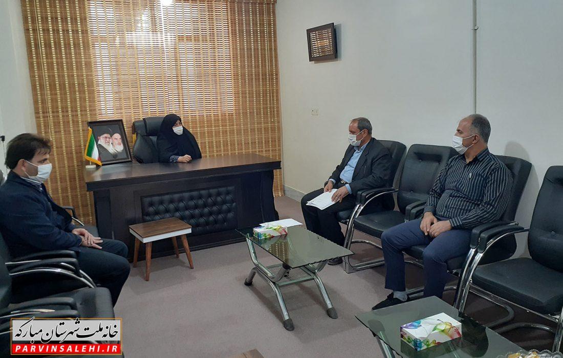 جلسه بررسی مسائل شهر کرکوند با اعضای شورای اسلامی این شهر برگزار شد