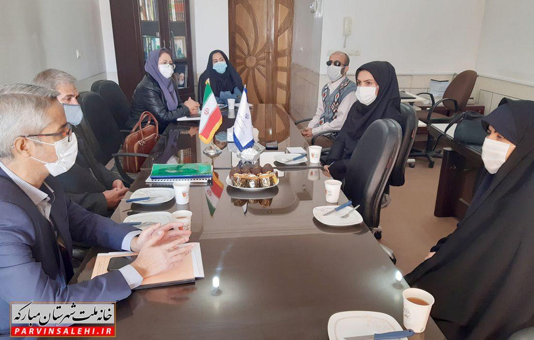 بازدید نماینده شهرستان مبارکه از اداره فرهنگ و ارشاد اسلامی