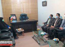 دیدار رئیس اداره محیط زیست و فعالان محیط زیست شهرستان مبارکه با دکتر صالحی