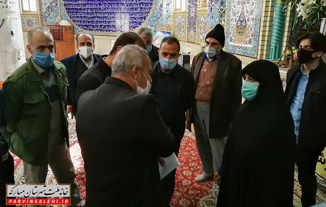 حضور دکتر صالحی در نماز جمعه شهر دیزیچه