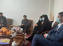 دیدار دکتر صالحی با یادگاران هشت سال دفاع مقدس شهرستان
