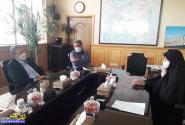 دیدار دکتر صالحی با معاون وزیر راه برای تکمیل پروژه محور مبارکه-بروجن