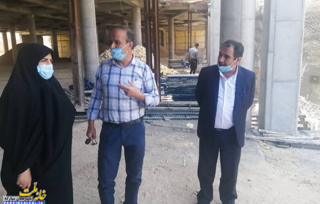 حضور دکتر صالحی در مجموعه فرهنگی حسینیه مبارکه
