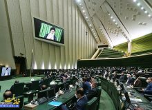 ارتباط تصویری نمایندگان مجلس با رهبر معظم انقلاب اسلامی