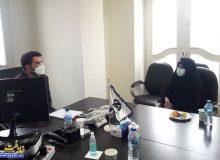 دیدار دکتر صالحی با مجری طرحهای زیربنایی استان اصفهان