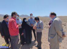 بازدید عضو شورای ملی ایمنی زیستی کشور از سایت بازیافت شهرستان مبارکه