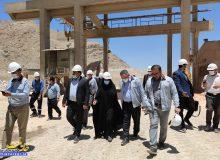 مراسم گرامیداشت هفته محیط زیست در شرکت فولادسنگ مبارکه با حضور دکتر صالحی