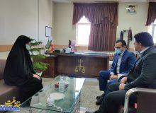 دیدار دکتر صالحی با دادستان و رئیس دادگستری شهرستان مبارکه به مناسبت هفته قوه قضاییه