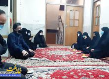 حضور دکتر صالحی در منزل مرحوم بهنام شریفی